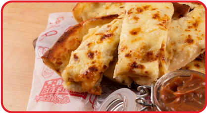 Deditos de masa con queso
